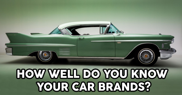 How Well Do You Know Your Car Brands?