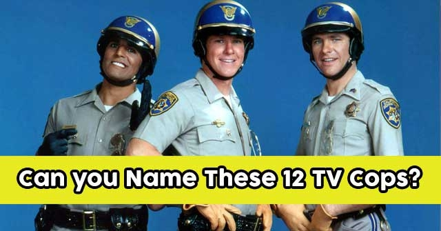 Can you Name These 12 TV Cops?