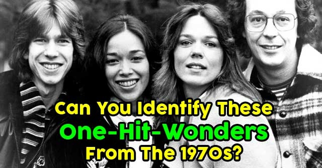 Can You Identify These One-Hit-Wonders From The 1970s?