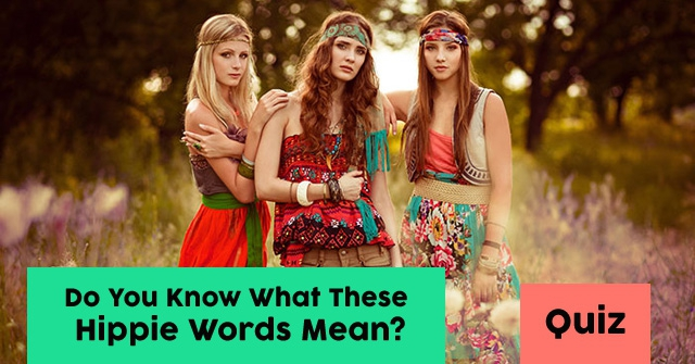 Do You Know What These Hippie Words Mean?