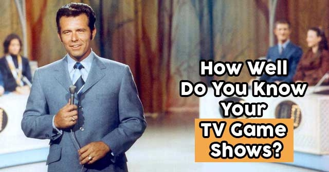 How Well Do You Know Your TV Game Shows?