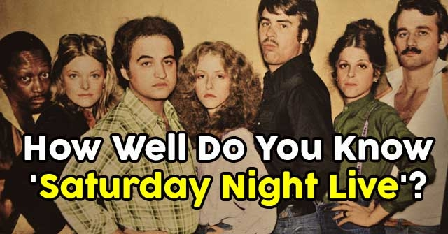 How Well Do You Know 'Saturday Night Live'?