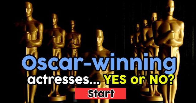 Oscar-winning actresses… or not?
