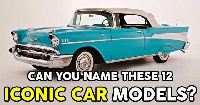Can You Name These 12 Iconic Car Models?
