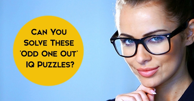 Can You Solve These 'Odd One Out' IQ Puzzles?