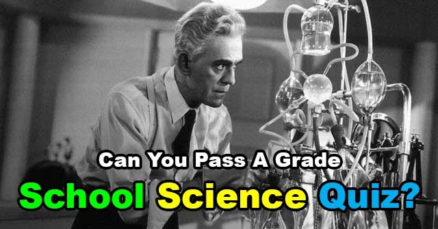 Can You Pass A Grade School Science Quiz?