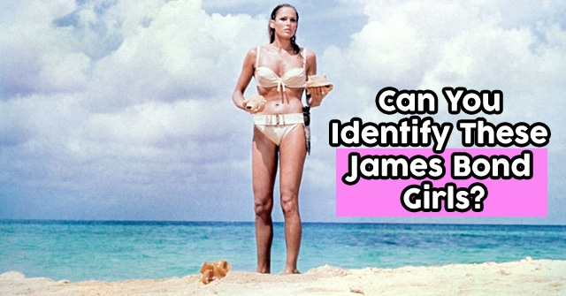 Can You Identify These James Bond Girls?