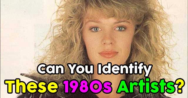 Can You Identify These 1980s Artists?