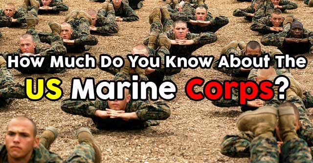 How Much Do You Know About The US Marine Corps?
