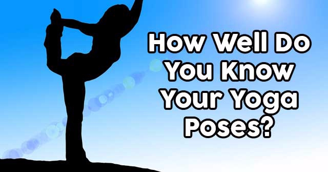 How Well Do You Know Your Yoga Poses?