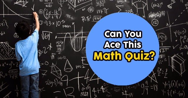 Can You Ace This Math Quiz?