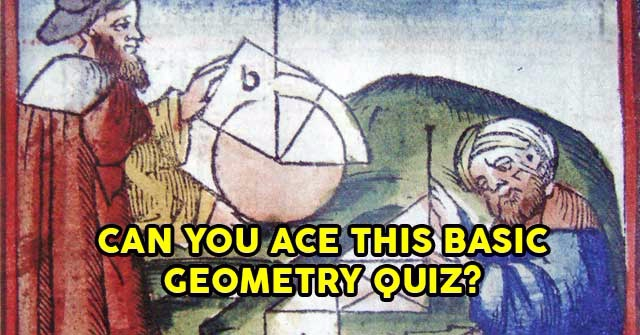 Can You Ace This Basic Geometry Quiz?
