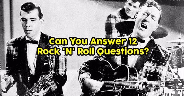 Can You Answer 12 Rock 'N' Roll Questions?