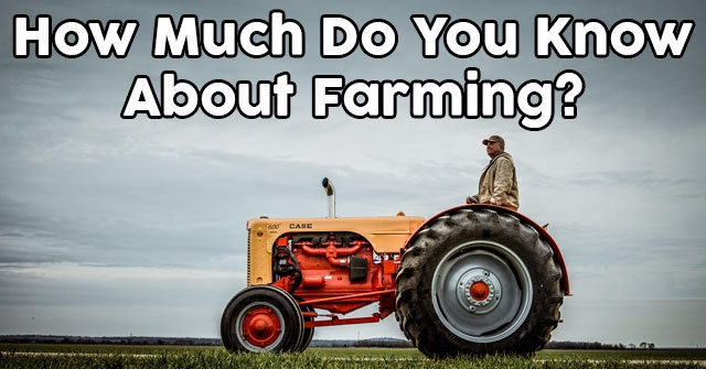 How Much Do You Know About Farming?