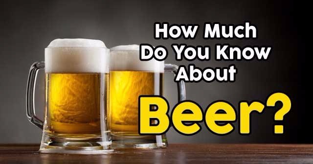 How Much Do You Know About Beer?