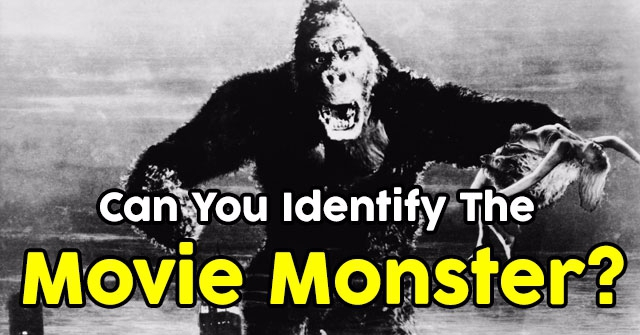 Can You Identify The Movie Monster?