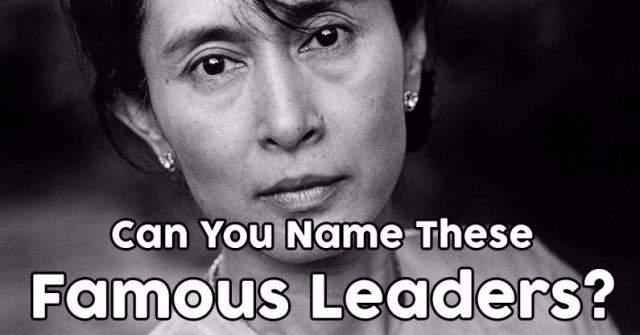 Can You Name These Famous Leaders?