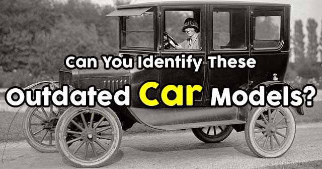 Can You Identify These Outdated Car Models?