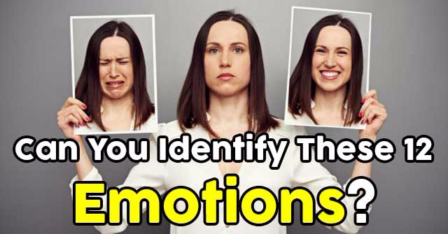 Can You Identify These 12 Emotions?