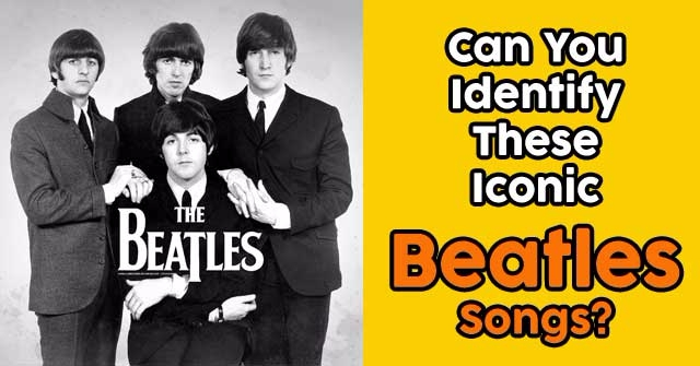 Can You Identify These Iconic Beatles Songs?