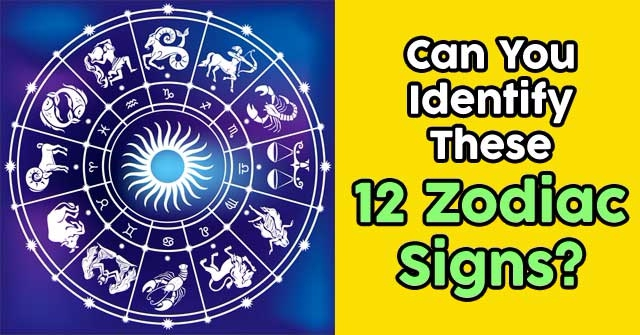 Can You Identify These 12 Zodiac Signs?