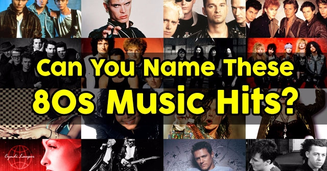 Can You Name These 80s Music Hits?