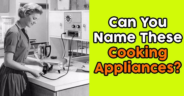 Can You Name These Cooking Appliances?