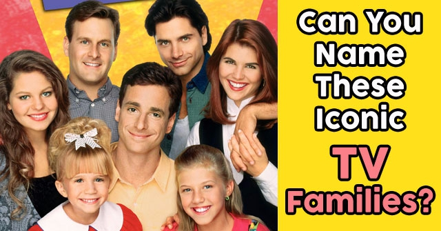 Can You Name These Iconic TV Families?