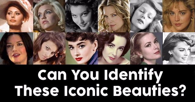 Can You Identify These Iconic Beauties?