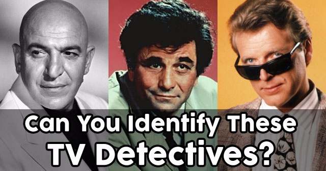 Can You Identify These TV Detectives?