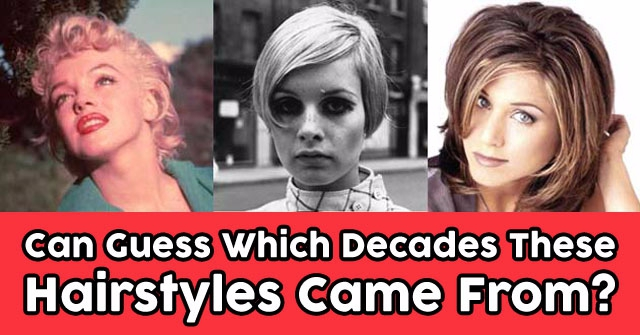 Can Guess Which Decades These Iconic Hairstyles Came From?