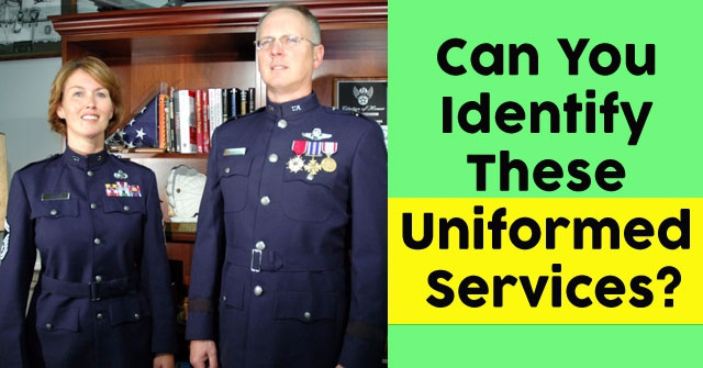 Can You Identify These Uniformed Services?