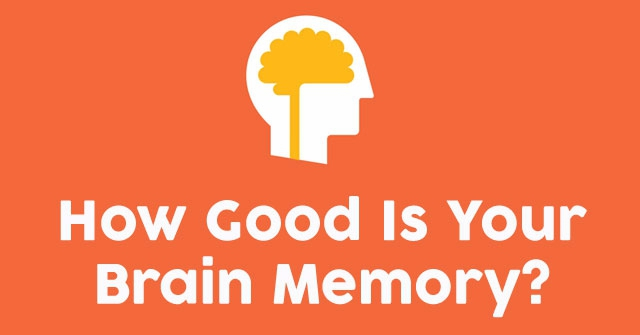 How Good Is Your Brain Memory?