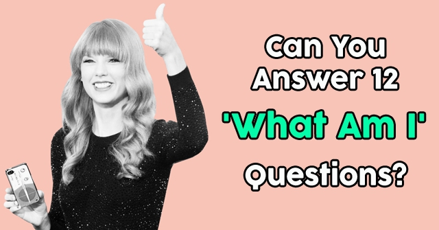 Can You Answer 12 What Am I Questions Quizpug