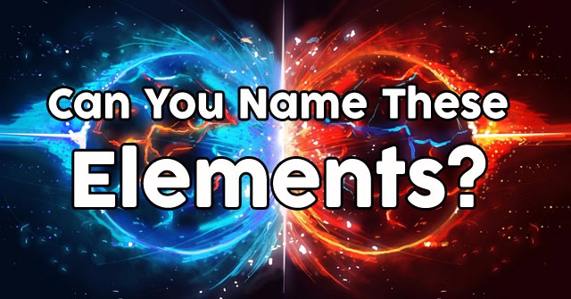 Can You Name These Elements?