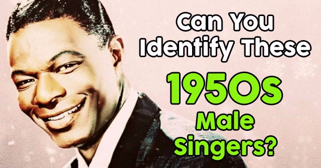 Can You Identify These 1950s Male Singers?