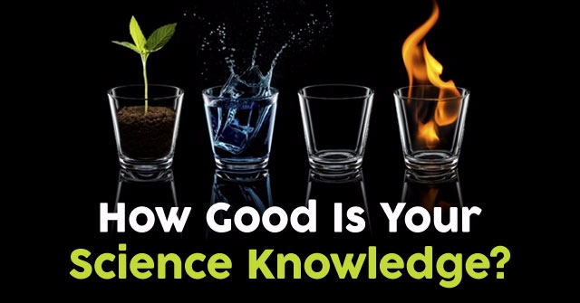 How Good Is Your Science Knowledge?