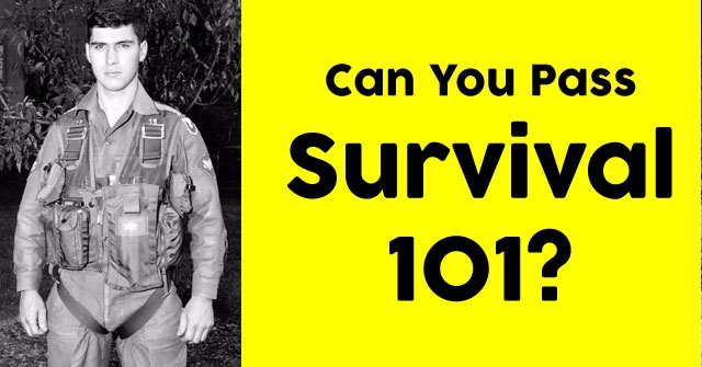Can You Pass Survival 101?