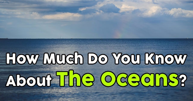 How Much Do You Know About The Oceans?