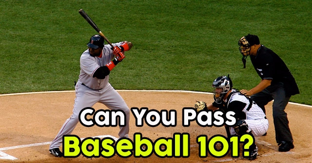 Can You Pass Baseball 101?