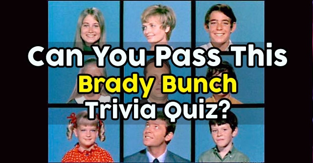 Can You Pass This Brady Bunch Trivia Quiz?