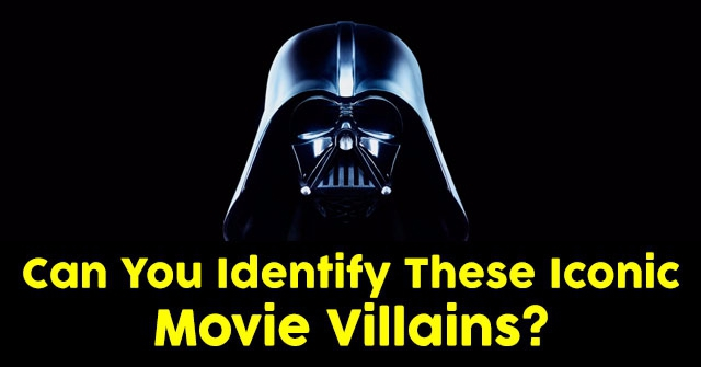 Can You Identify These Iconic Movie Villains?