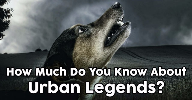 How Much Do You Know About Urban Legends?