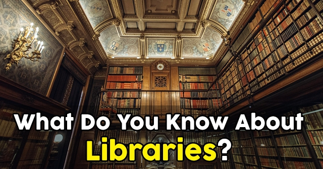 What Do You Know About Libraries?