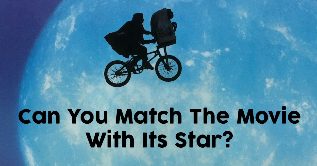Can You Match The Movie With Its Star?