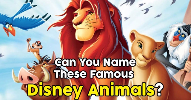 Can You Name These Famous Disney Animals?