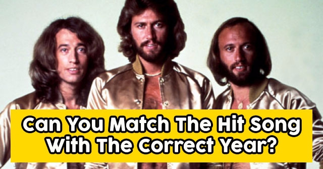 Can You Match The Hit Song With The Correct Year?