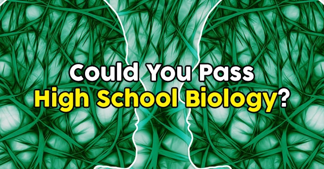 Could You Pass High School Biology?