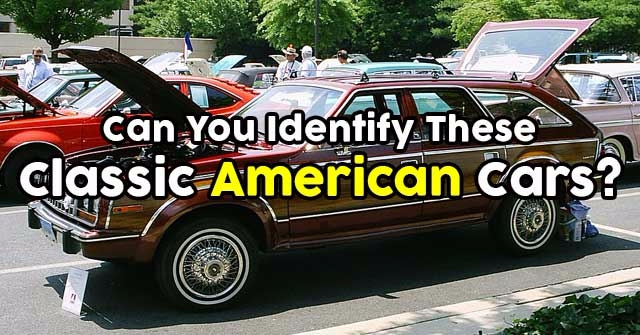 Can You Identify These Classic American Cars?