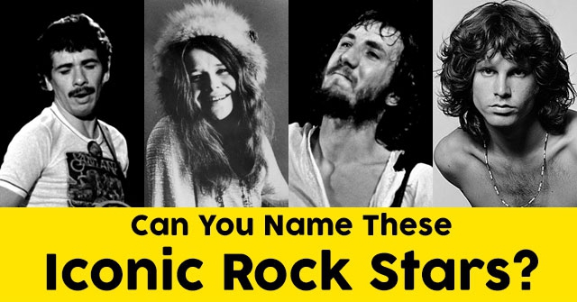 Can You Name These Iconic Rock Stars?